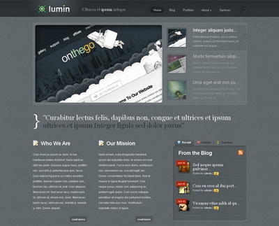 Lumin - тема WordPress