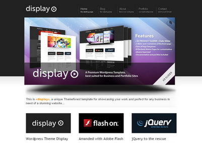 Display - тема WordPress