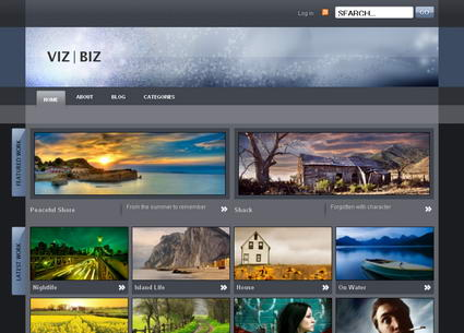 Viz Biz - тема WordPress